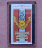 LOYAL REGIMENT CAP BADGE FRIDGE MAGNET (1939)
